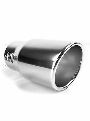 Chrome Exhaust Tailpipe Tip Trim End Muffler Finisher TOYOTA RAV4 CROSSOVER