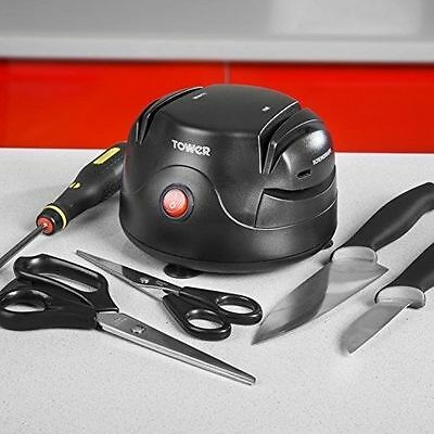 British-Owned Tower Brand Professional Stylish Electric Knife Sharpener - T19008