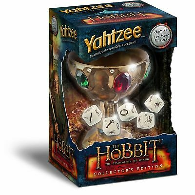 YAHTZEE: The Hobbit The Desolation of Smaug Collector's Edition NEW