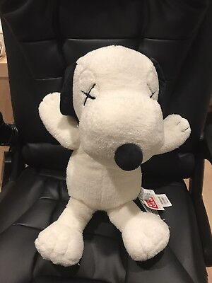 @@all Sold Out@@uniqlo X Kaws X Peanuts Collection Snoopy Plush Size L Large