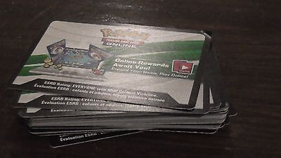 Pokemon tcgo codes 50 cards per set with multiple expansions and decks/promos