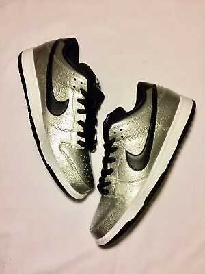 new style 3a601 69272 Nike Mens Dunk Low Premium SB Cold Pizza Silver Black 10 DS (313170-024