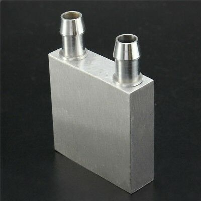 40x40x12mm Aluminum Water Liquid Cooler Block Heatsink For Computer CPU Radiator