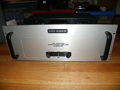 Audio Research Classic 60 Stereo Tube Amp Super Condition Clean Collectible Work