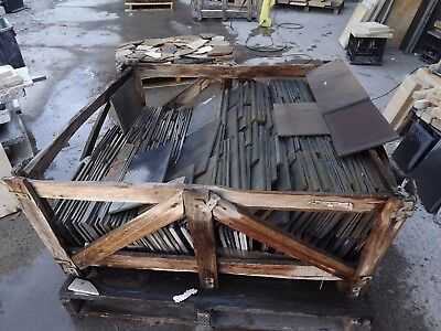 Slate 400x400mm about 15mm thick strong tough black tiles