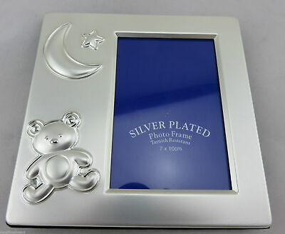 Bulk 10 X Baby Photo  Frames / Favours, Quality Silver Plated Christening Baby