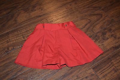 A10- Vintage Bryan & Co. Red Short Size 2T