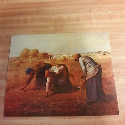 Art Print THE GLEANERS  Conoco Customer Premium From the 1960's  #7
