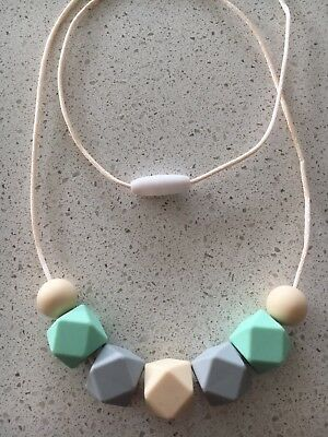 Silicone Necklace for Mum Jewellery Beads Aus Gift Breast Sensory