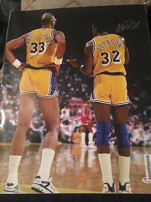 magic johnson (basketball) authentic autograph