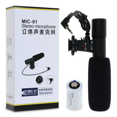 NEW Professional Directional Condenser Microphone for DSLR / SLR Cameras