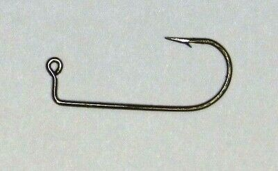 1000 #6 Eagle Claw 570R Red Jig Hooks for Jig Molds