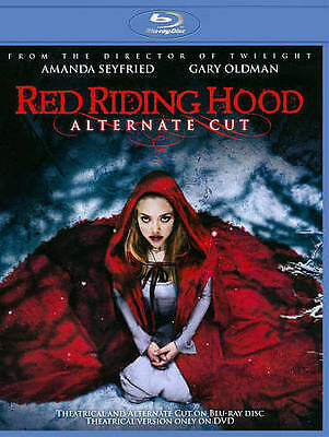 Red Riding Hood (Blu-Ray Disc , 2011 , Alternate Cut) New Sealed Free Shipping!!