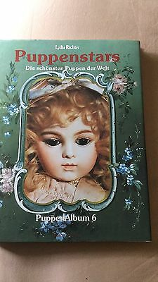 Puppenstars Album 6 By Lydia Richter Hardcover Beautiful Photos ! German Text