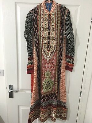 Embroidered Printed Lawn Shalwar Kameez Party Indian Pakistani
