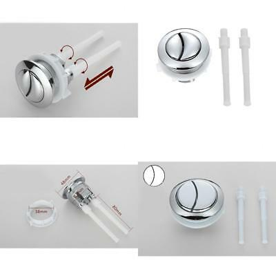Universal Dual Type Flush Toilet Water Tank Push Button Fits 38/48/58mm Hole