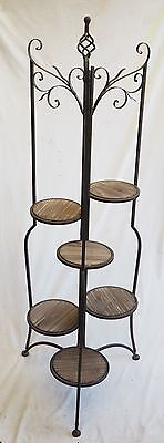 6 Tier Indoor Or Covered Outdoor Plant Stand