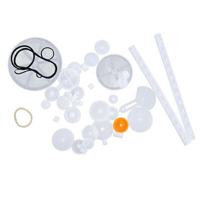 34 Types Plastic Gear Package Worm Gear Robot Toy DIY Parts Accessories