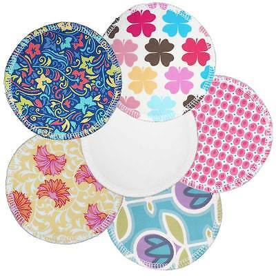 Washable bamboo breast pads Daytime