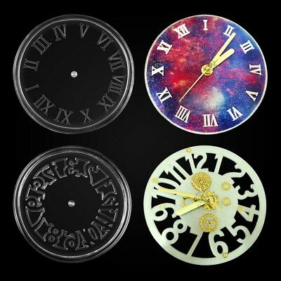 Silicone Mold Making Kit Jewelry 3D Gem Resin Casting Clock Mold DIY Tool
