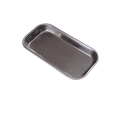 Dental Stainless Steel Surgical Tray Dental Dish Lab Instrument Tool 22*11*2cmFO