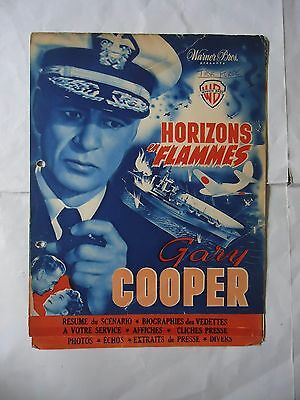 GARY COOPER/TASK FORCE// 27A/french pressbook