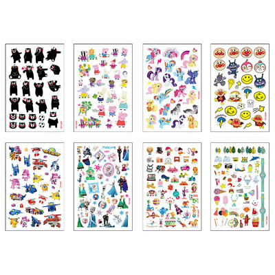 Kids Cartoon Waterproof Temporary Removable Fake Tattoo Sticker Body Art