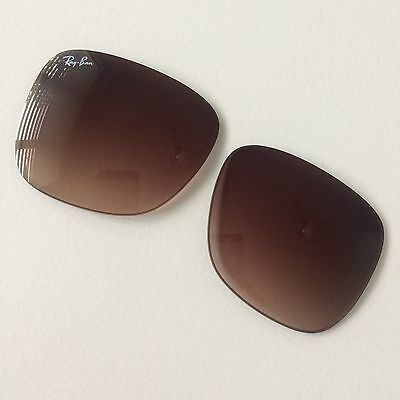 Ray Ban Justin RB 4165 (54x16) New 100% Official & Genuine in Brown Gradient