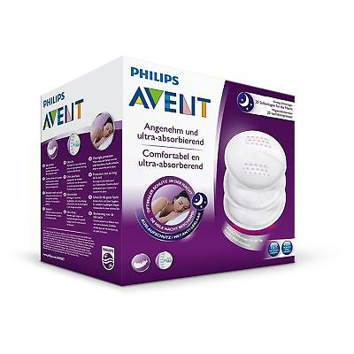 Philips AVENT Disposable Breast Pads Night Ultra Dry Overnight Protection 20PK
