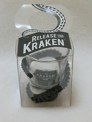 NEW! Release the Kraken Black Spiced Rum Tentacle Wrapped Shot Glass