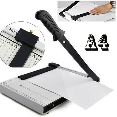 Pro Quality  Heavy Duty A4 Paper Guillotine Cutter Trimmer Machine Home Office