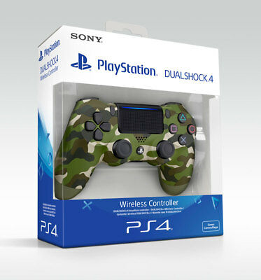 Controller Ps4 Dualshock 4 Green Camouflage V2 Playstation 4 Mimetico
