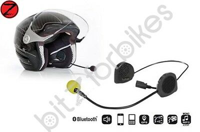 Twiins D2 Motorcycle/Scooter Bluetooth Hands Free Head Set For Phone/GPS/MP3