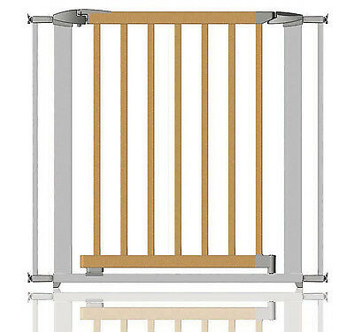 Clippasafe Toddler Child Safety Stair Gate 72.5- 95Cm - Metal/Wood - New
