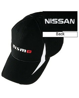 Officially Licensed Nissan Nismo Performance Cap Hat Black white 4d8c33c0d1e5