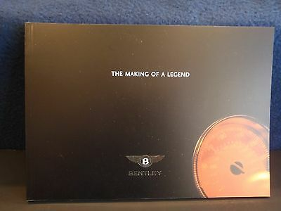 The Making of a Legend official Bentley brochure