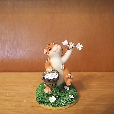 "Charming Tails ""Wedding Day Blossoms"" No Box"