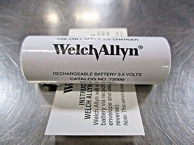 Welch Allyn 72200 Rechargeable 3.5V Battery NEW