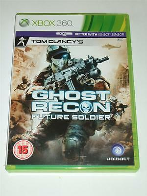 """Tom Clancy's Ghost Recon Future Soldier  Xbox 360 """"FREE UK  P&P"""""""
