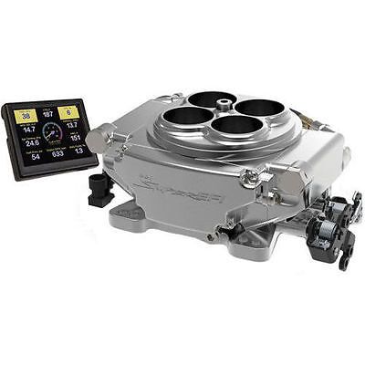 Sniper EFI Self-Tuning Fuel Injection System 550-510 Holley Performance Shiny