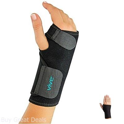 VIVE Right Hand Wrist Brace Support Thumb Loop Wrap Finger Sport Strap One Size