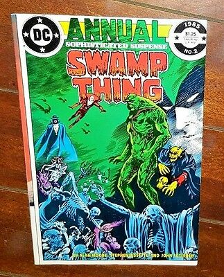 Swamp Thing Annual #2, (1984, DC): Down Amongst the Dead Men!