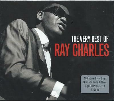 Ray Charles - The Very Best Of [Greatest Hits] 2CD NEW/SEALED