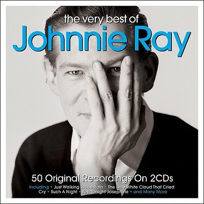 Johnnie Ray - The Very Best Of [Greatest Hits] 2CD NEW/SEALED