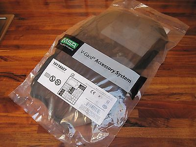 "MSA V-Gard Visor, Plastic Edged Wire Mesh, 8""x17"" 10116557 Made in USA"