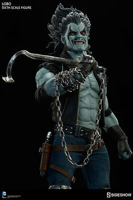 "Sideshow Lobo DC Comics The Main Man 1/6 Scale 12"" Figure NEW IN STOCK"