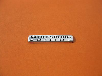 Vw Jetta Wolfsburg Edition Rear Side Emblem Logo Badge Sign Symbol Oem Used #8