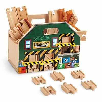 Fisher Price Thomas & Friends Wooden Railway Store And Play Carry Case