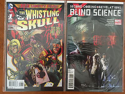 Science Fiction Lot of 2 Comic Books (Marvel & DC) NM+