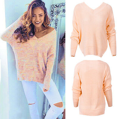 Women's Plus Size Long Sleeve Knitted Sweater Tops Loose Cardigan Outwear Coat